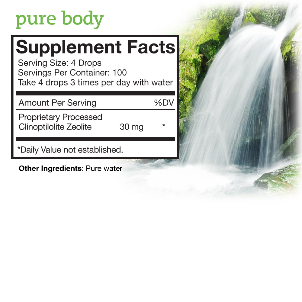 Pure Body Supplement Facts